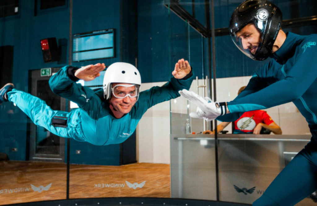 Indoor Skydiving in Winterthur
